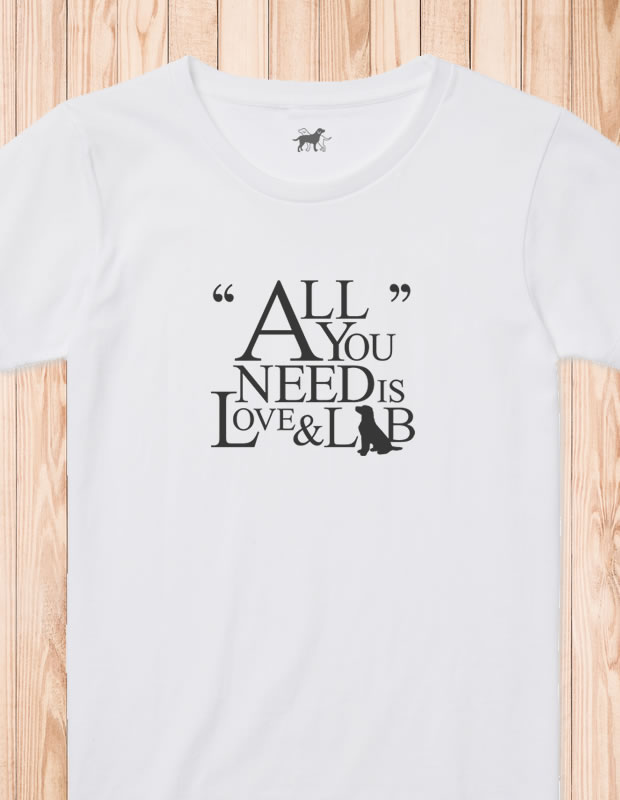 All You Need is Love & Lab Tシャツ