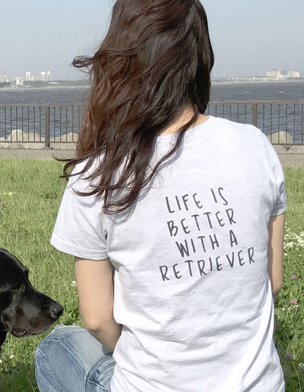 LIFE IS BETTER Tシャツ