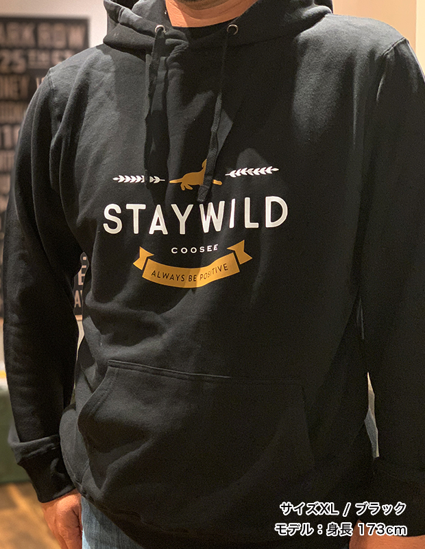 STAYWILD プルオーバーパーカー